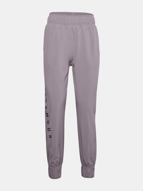 Tepláky Under Armour Woven WM Graphic Pants-PPL