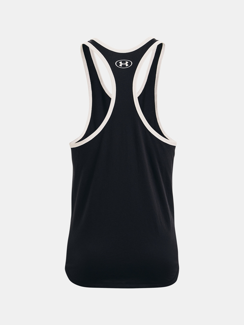 Tielko Under Armour Project Rock Iron Tank-BLK
