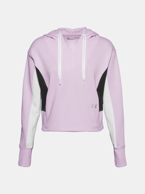 Mikina Under Armour Rival Fleece EMB Hoodie-PPL