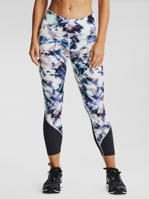 Legíny Under Armour W UA Fly Fast Printed Crop-BLU