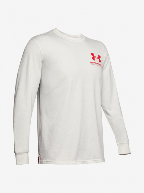 Tričko Under Armour Performance Originators Ls Tee-Wht