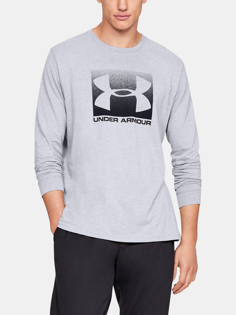 Tričko Under Armour BOXED SPORTSTYLE LS-GRY