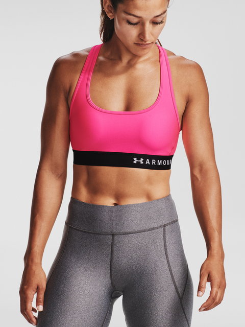 Podprsenka Under Armour Armour Mid Crossback Bra-PNK