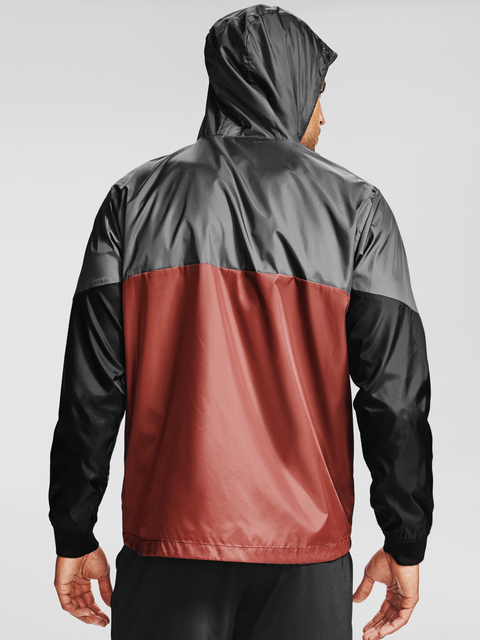 Mikina Under Armour UA LEGACY WINDBREAKER-RED