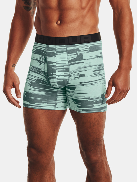 Boxerky Under Armour UA CC 6in Novelty 3 Pack-BLU