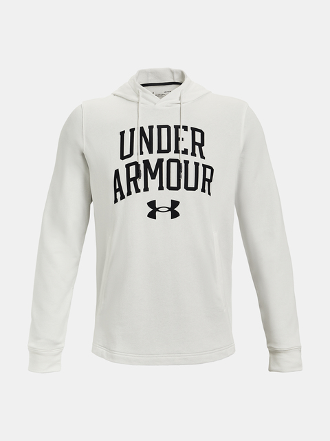 Mikina Under Armour UA RIVAL TERRY COLLEGIATE HD-WHT