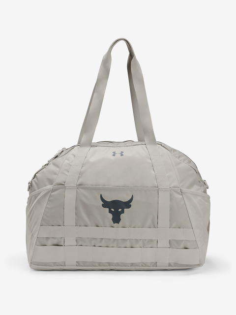 Taška Under Armour Project Rock Gym Bag-WHT