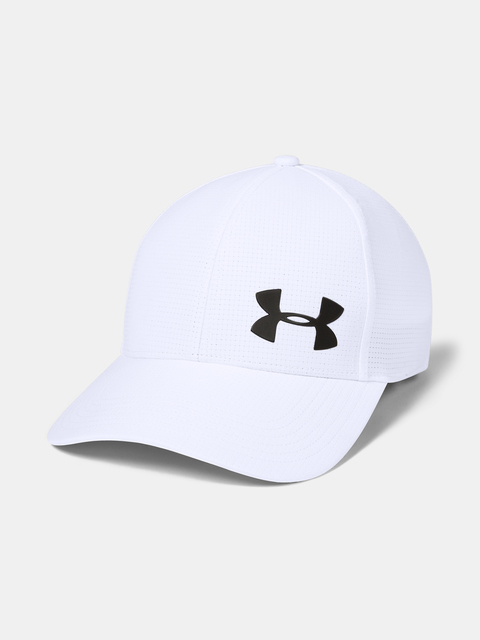 Šiltovka Under Armour UA Men's Airvent Core Cap 2.0-WHT