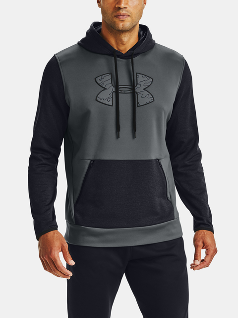 Mikina Under Armour AF Textured Big Logo HD-GRY