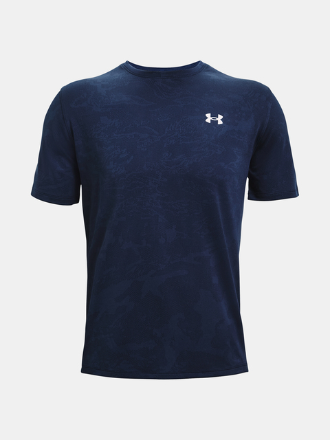Tričko Under Armour UA Training Vent Camo  SS-NVY