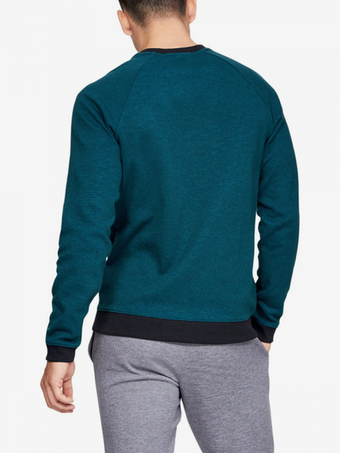 Mikina Under Armour Unstoppable 2X Knit Crew-Grn