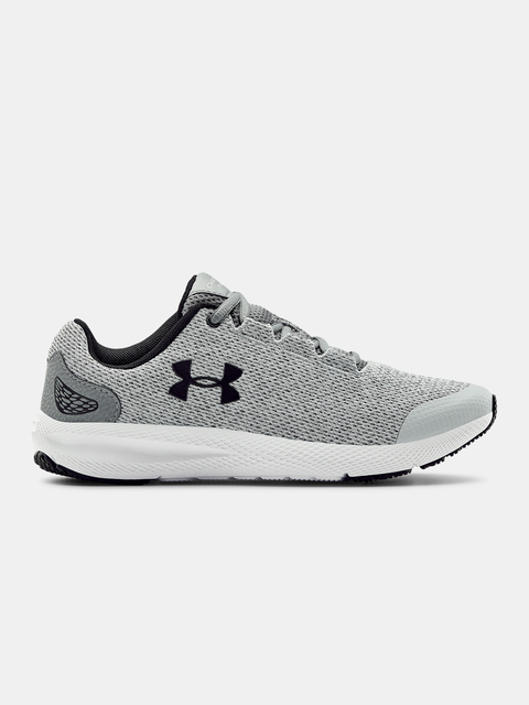 Topánky Under Armour GGS Charged Pursuit2 Twst-GRY