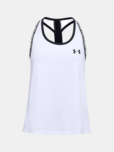 Tielko Under Armour UA Knockout Tank-WHT