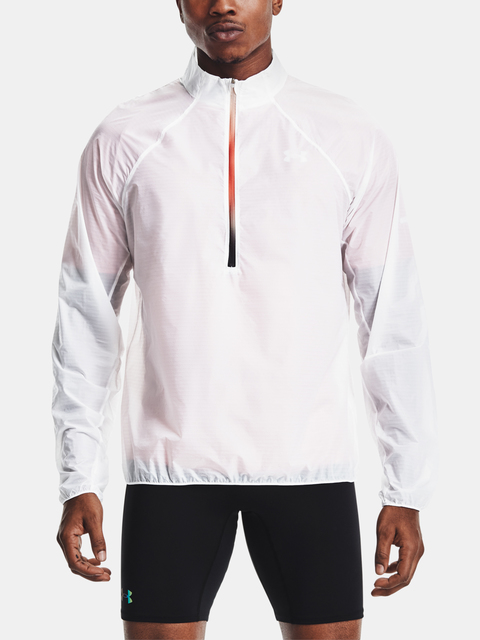 Bunda Under Armour UA Impasse Flow 1/2 Zip-WHT