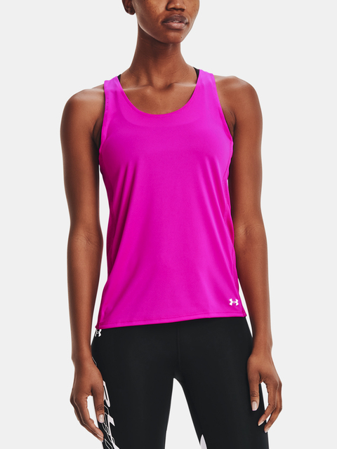 Tielko Under Armour UA Fly By Tank-PNK