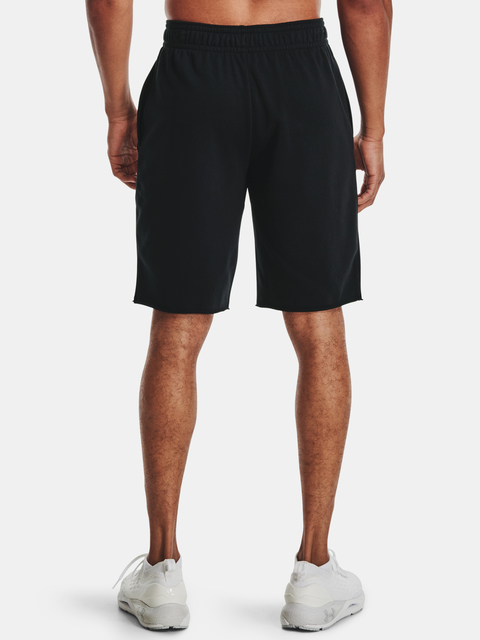 Kraťasy Under Armour  RIVAL TERRY SHORT-BLK
