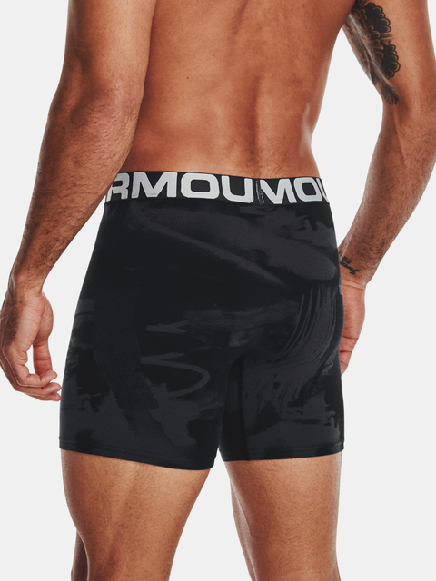 Boxerky Under Armour  CC 6in Novelty 3 Pack-BLK