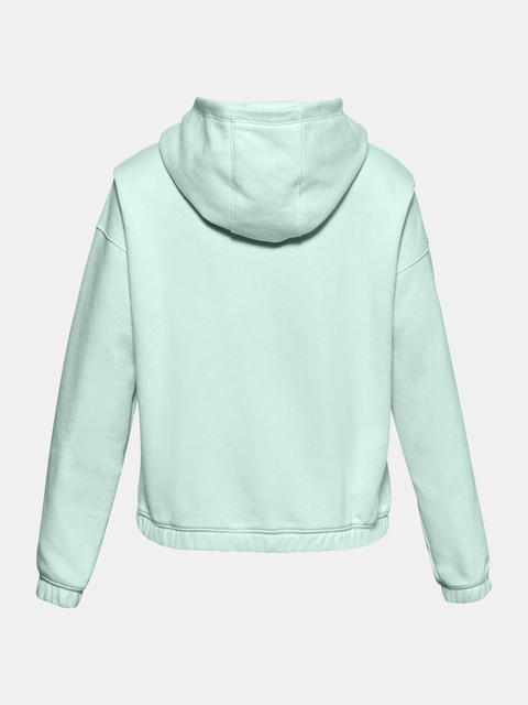 Mikina Under Armour Rival Fleece FZ Hoodie-BLU