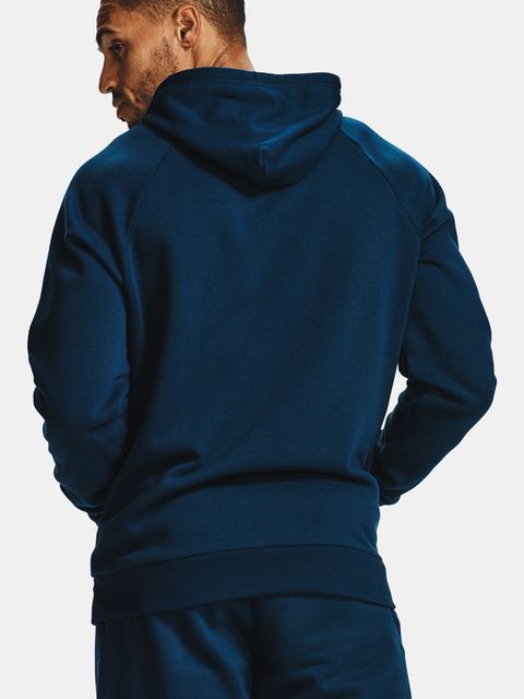 Mikina Under Armour Rival Fleece Hoodie-NVY