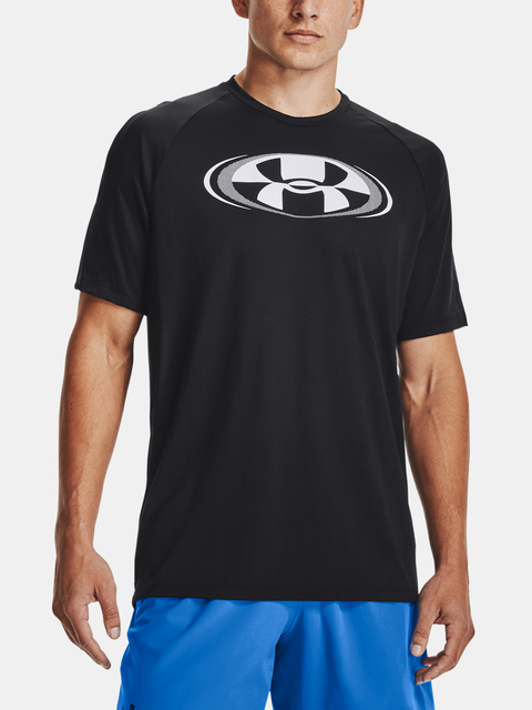 Tričko Under Armour UA TECH 2.0 CIRCUIT SS-BLK
