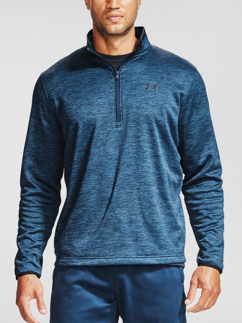 Mikina Under Armour Armour Fleece 1/2 ZIP-NVY