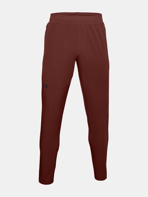 Tepláky Under Armour UA UNSTOPPABLE TAPERED PANTS-RED