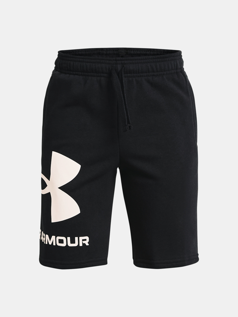 Kraťasy Under Armour UA RIVAL FLEECE LOGO SHORTS-BLK