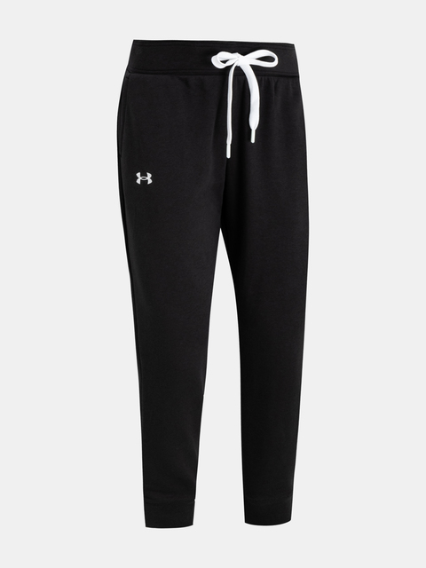 Legíny Under Armour UA Rival Terry Pant-BLK