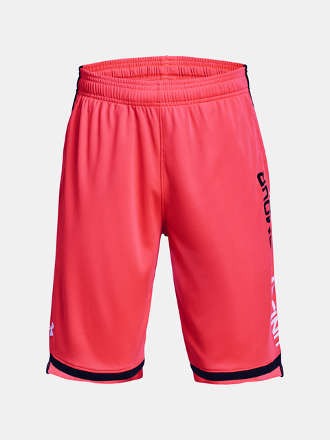 Kraťasy Under Armour UA Stunt 3.0 Shorts-RED