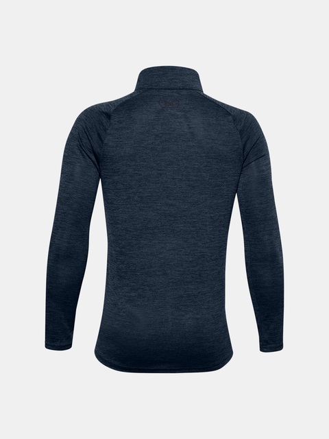 Tričko Under Armour UA TECH 2.0 1/2 ZIP-NVY