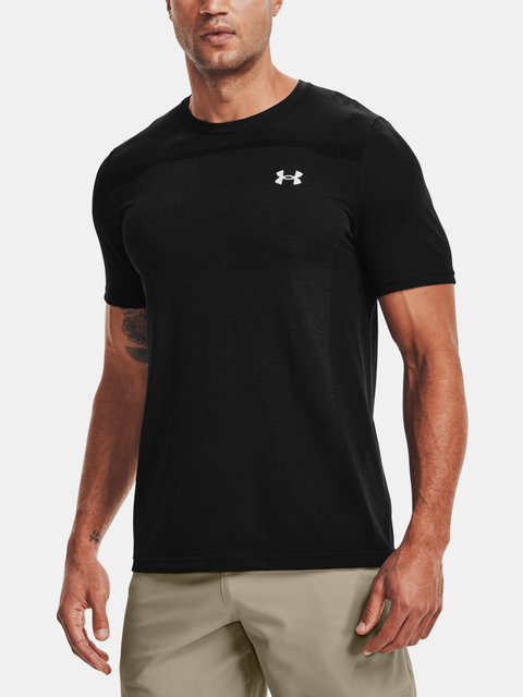 Tričko Under Armour Seamless SS-BLK