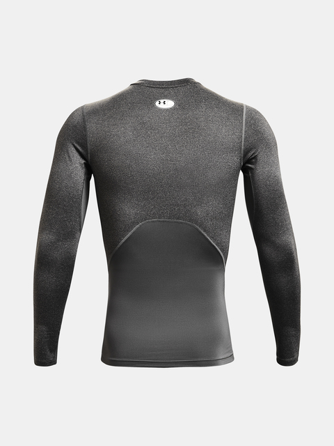 Tričko Under Armour HG Armour Comp LS-GRY