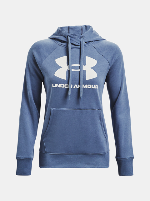Mikina Under Armour Rival Fleece Logo Hoodie-BLU