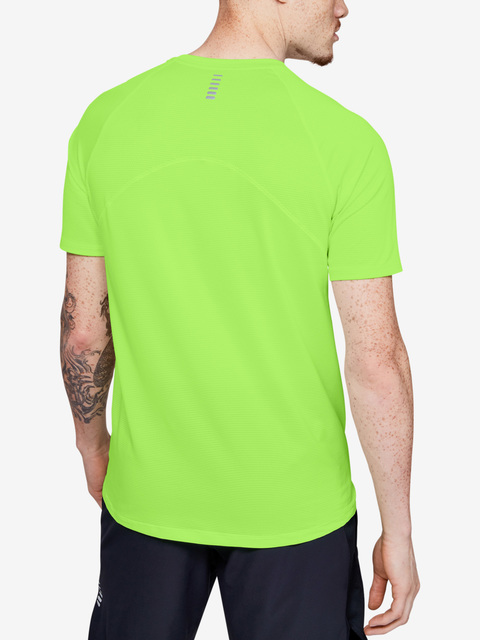 Tričko Under Armour Qualifier Shortsleeve-Grn