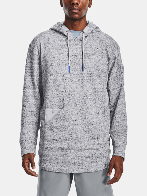 Mikina Under Armour CURRY UNDRTD UTILITY HOODY-GRY