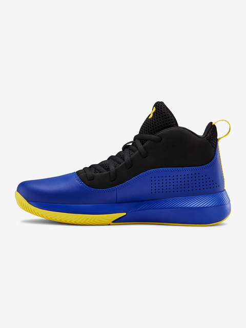 Topánky Under Armour GS Lockdown 4-BLU