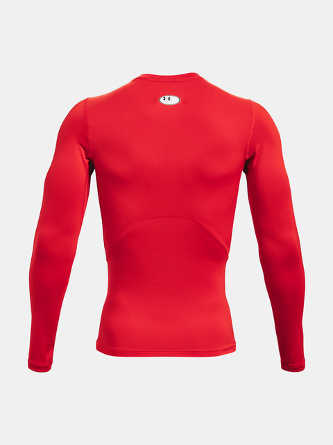 Tričko Under Armour UA HG Armour Comp LS-RED