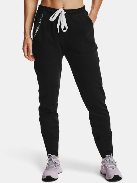 Nohavice Under Armour Recover Fleece Pants-BLK