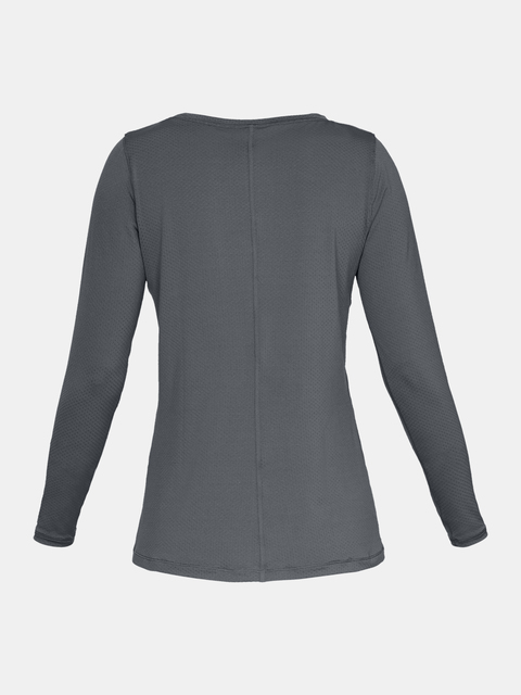Tričko Under Armour UA HG Armour Long Sleeve-GRY