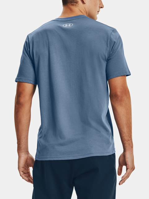 Tričko Under Armour TEAM ISSUE WORDMARK SS-BLU