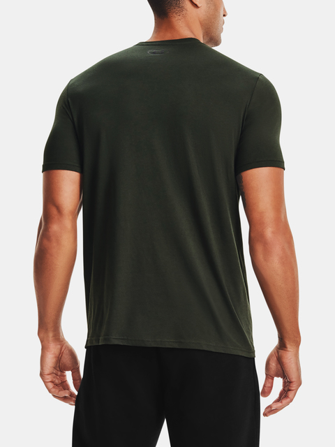 Tričko Under Armour PJT ROCK HARDEST WRKR SS-GRN
