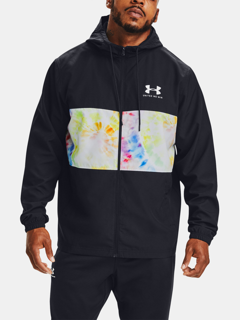 Tričko Under Armour PRIDE SPORTSTYLE WIND HOODED JACKET-BLK