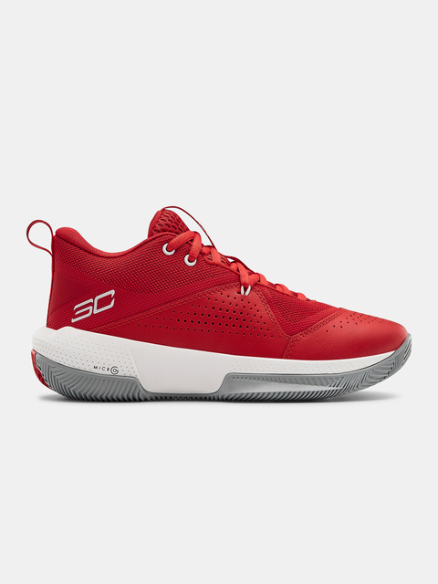 Topánky Under Armour GS SC 3ZER0 IV-RED