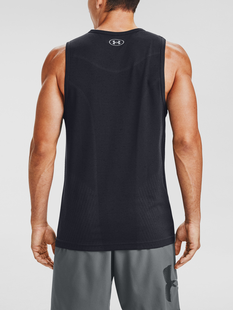 Tielko Under Armour UA Seamless Tank-BLK