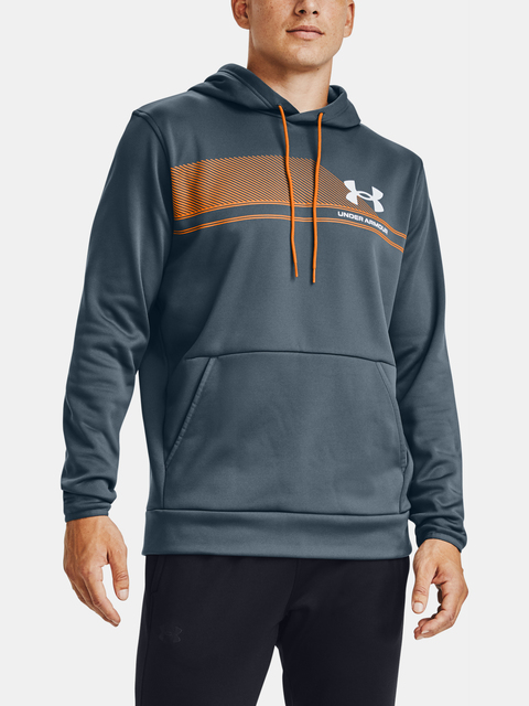 Mikina Under Armour AF Graphic Hoodie-BLU