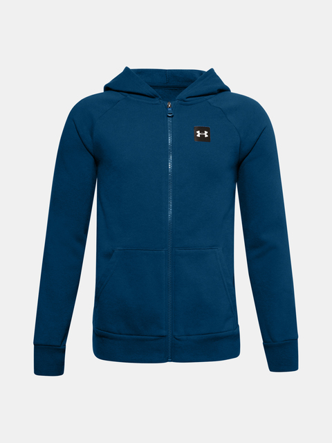 Mikina Under Armour UA RIVAL FLEECE FZ HOODIE-BLU