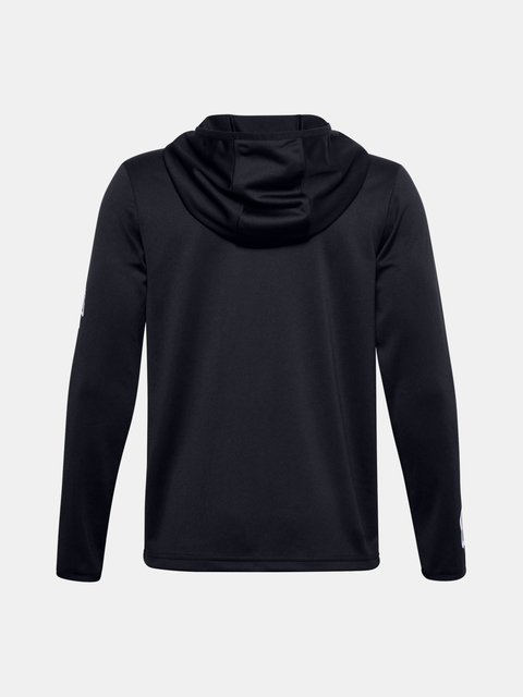 Bunda Under Armour UA HOOPS WARMUP JACKET-BLK
