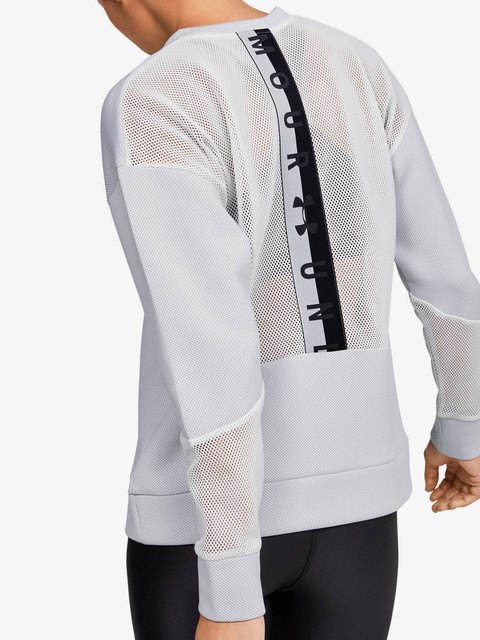 Mikina Under Armour Move Crew Mesh Inset