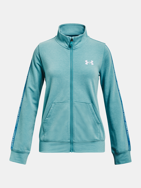 Mikina Under Armour Rival Terry Taped FZ-BLU