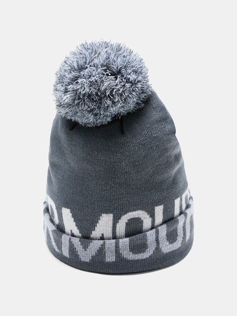 Čiapka Under Armour Graphic Pom Beanie-Gry